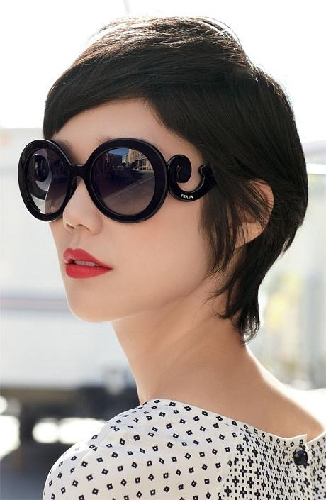 861f7e1e04223 Se bem que quando a moda dos óculos grandes começou aqui no Brasil, muita  gente achava estranho por serem exagerados, e hoje todas as mulheres tem um  modelo ...
