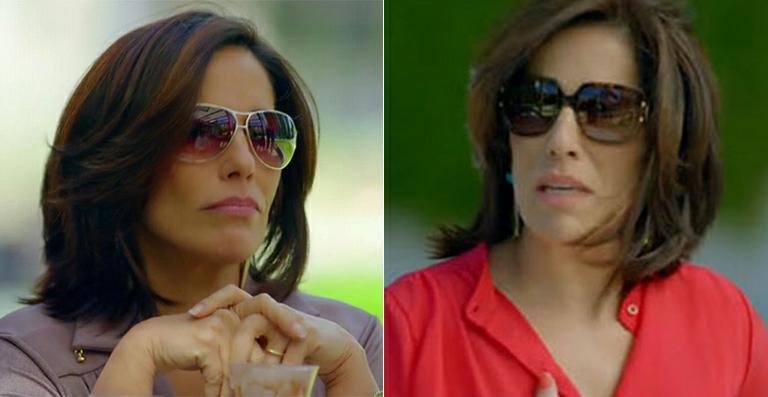 d562804af94eb Muitos são da MK, outros da Triton, Prada… Tem atrizes usam os seus  próprios óculos para compôr o look da personagem!