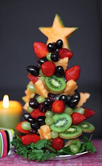 árvore-de-natal-de-frutas