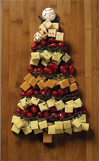 árvore-de-natal-de-queijo