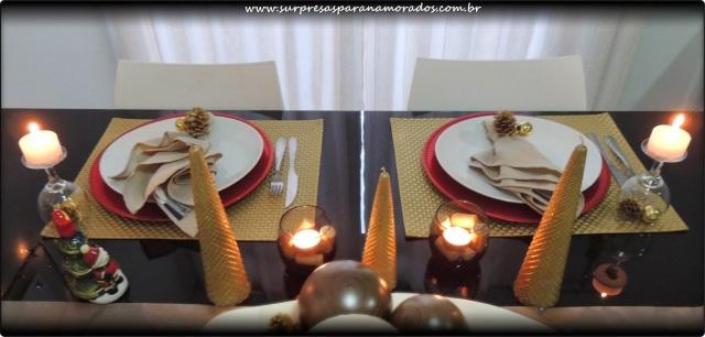 jantar romantico natal
