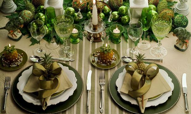 mesa natal verde